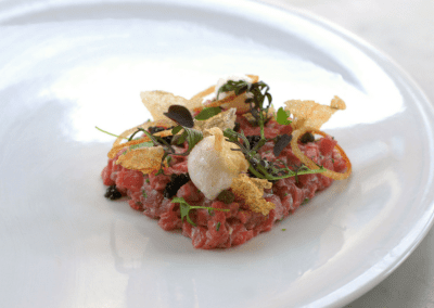 1789 Restaurant in Washington, DC Beef Tartare DiRoNA Awarded Restaurant
