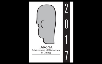Distinguished Restaurants of North America NEW 2017 DiRoNA Awarded Restaurant