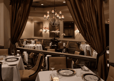 Yono's Restaurant in Albany, NY Dining Room DiRoNA Awarded Restaurant