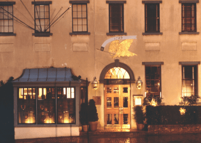 1789 Restaurant in Washington, DC Entrance DiRoNA Awarded Restaurant
