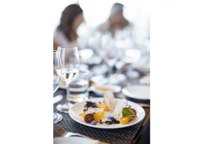 Miradoro Restaurant at Tinhorn Creek Vineyards in Oliver, BC Appetizer DiRoNA Awarded Restaurant
