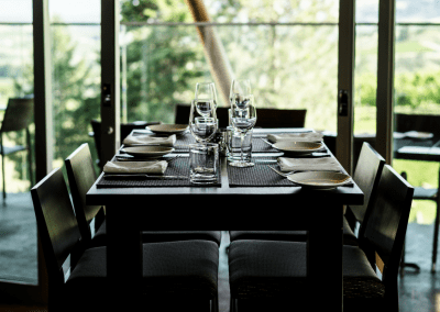 Miradoro Restaurant at Tinhorn Creek Vineyards in Oliver, BC Celebrate DiRoNA Awarded Restaurant