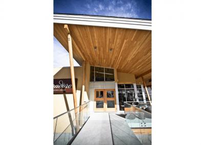 Miradoro Restaurant at Tinhorn Creek Vineyards in Oliver, BC Exterior DiRoNA Awarded Restaurant