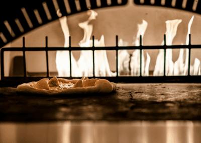 Miradoro Restaurant at Tinhorn Creek Vineyards in Oliver, BC Fire Roasted Pizza DiRoNA Awarded Restaurant