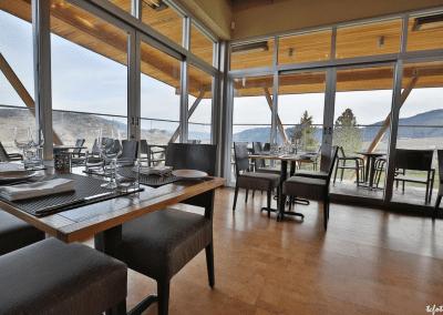 Miradoro Restaurant at Tinhorn Creek Vineyards in Oliver, BC Views DiRoNA Awarded Restaurant