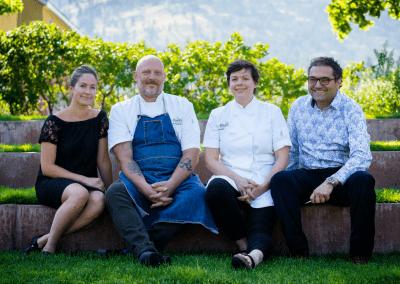 Miradoro Restaurant at Tinhorn Creek Vineyards in Oliver, BC Winery DiRoNA Awarded Restaurant