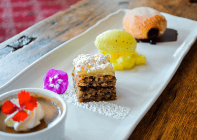 Smokehouse Restaurant at Antrim 1844 in Taneytown, MD Dessert DiRoNA Awarded Restaurant