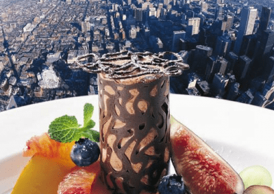 360 The Restaurant at the CN Tower in Toronto, ON Dessert with a View DiRoNA Awarded Restaurant
