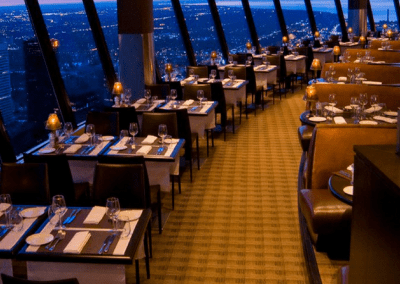 360 The Restaurant at the CN Tower in Toronto, ON Dining Room DiRoNA Awarded Restaurant