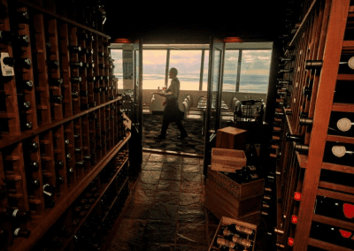 360 The Restaurant at the CN Tower in Toronto, ON Wine Cellar DiRoNA Awarded Restaurant