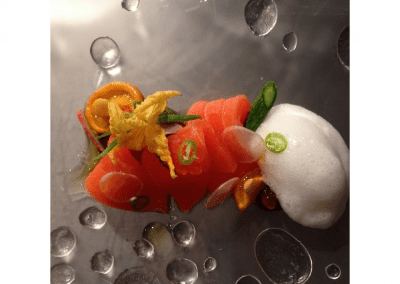 Alexander's Steakhouse in San Francisco Salmon DiRoNA Awarded Restaurant