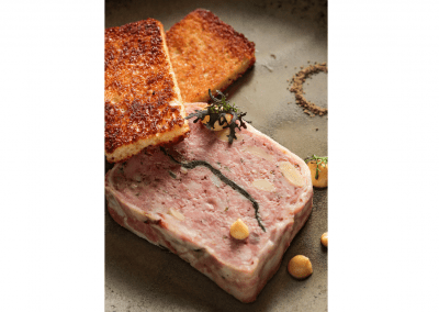 Alexander's Steakhouse in San Francisco Terrine DiRoNA Awarded Restaurant