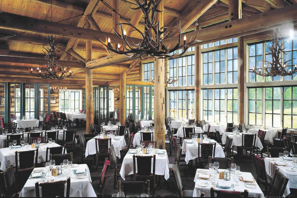 Beano S Cabin In Avon Co Dining Room Dirona Awarded Restaurant