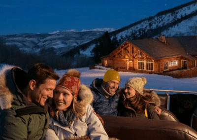 Beano's Cabin in Avon, CO Winter Escape DiRoNA Awarded Restaurant