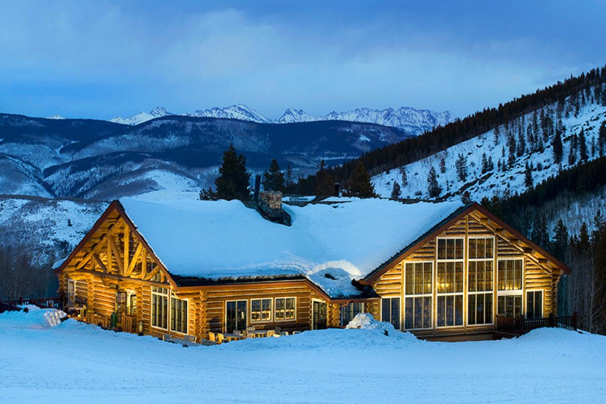 Beano S Cabin In Avon Co Winter Exterior Dirona Awarded