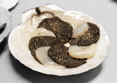 La Toque in Napa, CA Truffled Scallop DiRoNA Awarded Restaurant