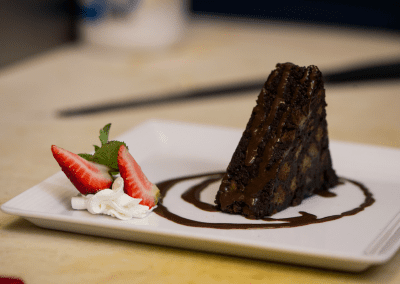 Barracuda Grill in Hamilton, Bermuda Dessert DiRoNA Awarded Restaurant