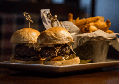 Bedford Village Inn in Bedford, NH Sliders DiRoNA Awarded Restaurant