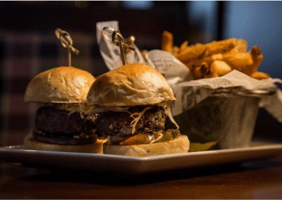 Bedford Village Inn in Bedford, NH Sliders DiRoNA Awarded Restaurant