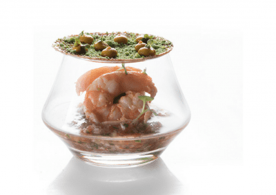 Benazuza Restaurant at Sian Ka'an at Grand Sens in Cancun, MX Shrimp DiRoNA Awarded Restaurant