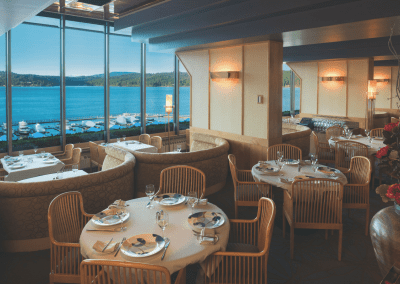 Beverly's at The Coeur d'Alene Resort in Coeur d'Alene, ID Lake View DiRoNA Awarded Restaurant
