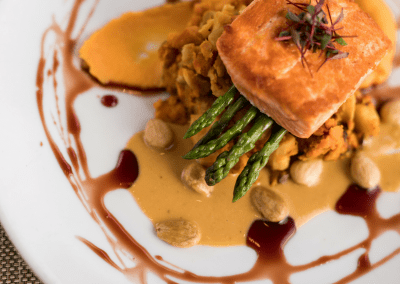 Beverly's at The Coeur d'Alene Resort in Coeur d'Alene, ID Salmon Dish DiRoNA Awarded Restaurant