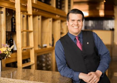 Beverly's at The Coeur d'Alene Resort in Coeur d'Alene, ID Wine Sommelier Trevor Treller DiRoNA Awarded Restaurant