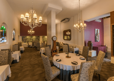 Careyes Restaurant in Grand Oasis Palm in Cancun, MX Dining Room DiRoNA Awarded Restaurant