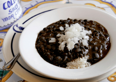 Columbia Restaurant Tampa, FL Cuban black Bean Soup DiRoNA Awarded Restaurant