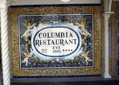 Columbia Restaurant Tampa, FL Entrance DiRoNA Awarded Restaurant