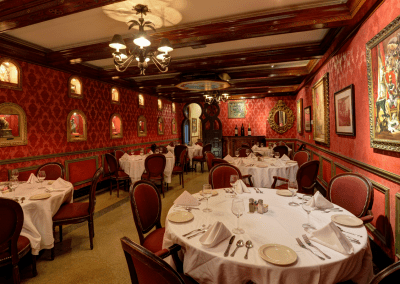 Columbia Restaurant Tampa, FL Red Room DiRoNA Awarded Restaurant