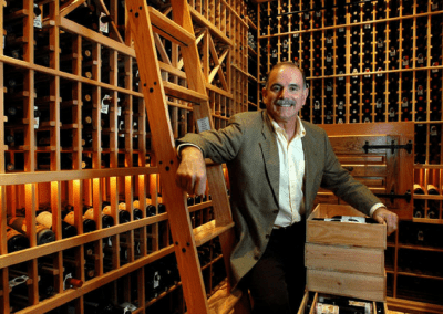 Columbia Restaurant Tampa, FL Richard Gonzmart in Wine Cellar DiRoNA Awarded Restaurant