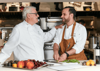 Don Alfonso 1890 in Toronto, ON Michelin Star Chef Alfonso Iaccarino & Executive Chef Saverio Macri DiRoNA Awarded Restaurant