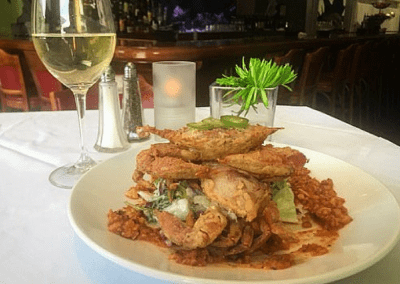 Splash Seafood Bar & Grill in Des Moines, IA Maryland Soft Shell Crabs DiRoNA Awarded Restaurant