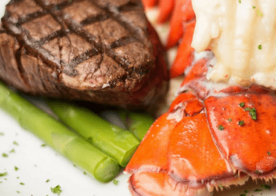 Splash Seafood Bar & Grill in Des Moines, IA Surf & Turf DiRoNA Awarded Restaurant