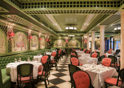 Brennan's in New Orlean's, LA Chanteclair Room DiRoNA Awarded Restaurant