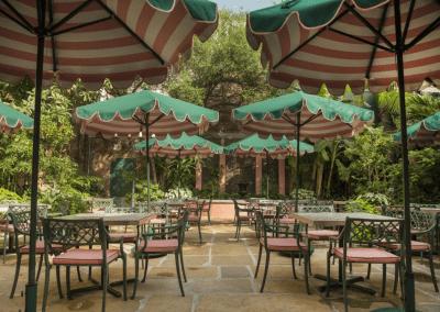 Brennan's in New Orlean's, LA Courtyard DiRoNA Awarded Restaurant