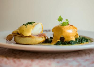 Brennan's in New Orlean's, LA Eggs Benedict DiRoNA Awarded Restaurant
