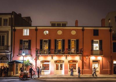 Brennan's in New Orlean's, LA Exterior DiRoNA Awarded Restaurant