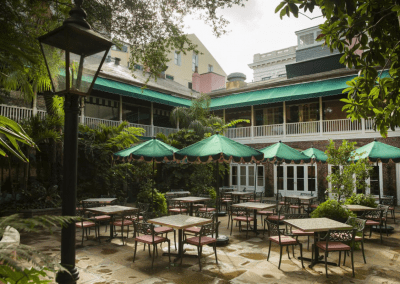 Brennan's in New Orlean's, LA Patio DiRoNA Awarded Restaurant
