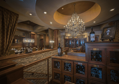 Churchill's Steakhouse Spokane, WA Interior DiRoNA Awarded Restaurant