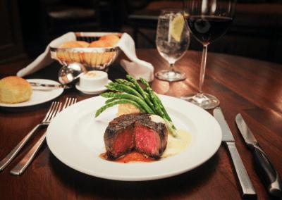 Churchill's Steakhouse Spokane, WA Steak Dinner DiRoNA Awarded Restaurant