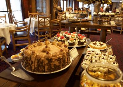 Glitretind Restaurant at Stein Eriksen Lodge in Park City, UT Breakfast Buffet DiRoNA Awarded Restaurant