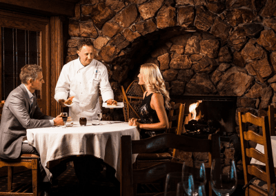 Glitretind Restaurant at Stein Eriksen Lodge in Park City, UT Date Night DiRoNA Awarded Restaurant