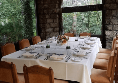 Hyeholde Restaurant in Coraopolis, PA The Garden DiRoNA Awarded Restaurant