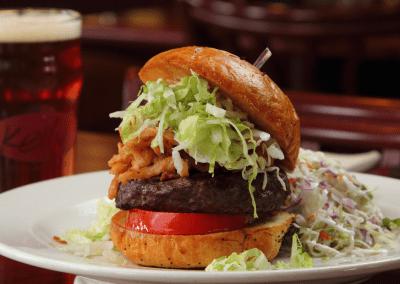 Kelly's Steak & Seafood in Boalsburg, PA Gourmet Burger Dessert DiRoNA Awarded Restaurant