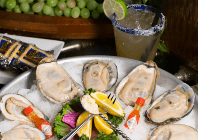 Mesa Street Grill in El Paso, TX Oysters DiRoNA Awarded Restaurant