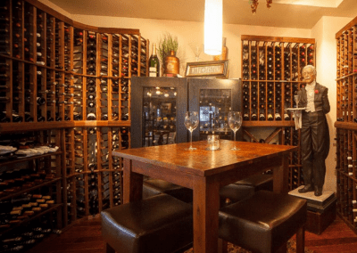 Mesa Street Grill in El Paso, TX Wine Cellar DiRoNA Awarded Restaurant