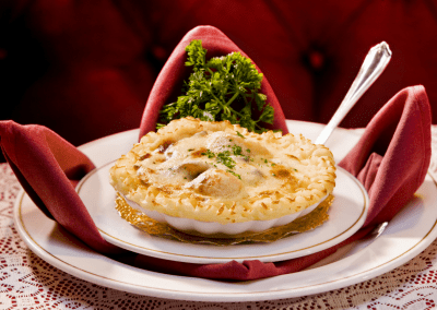 Michael's in Las Vegas, NV Coquille St Jacques DiRoNA Awarded Restaurant