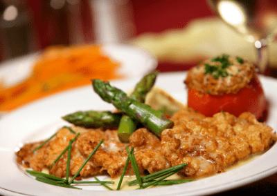 Michael's in Las Vegas, NV Veal Francais DiRoNA Awarded Restaurant
